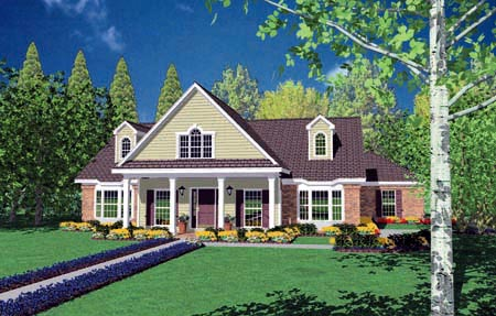 Country House Plan 56277 Elevation