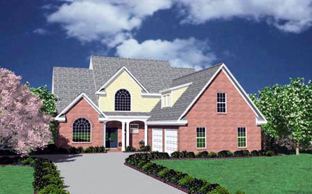 Traditional House Plan 56278 Elevation