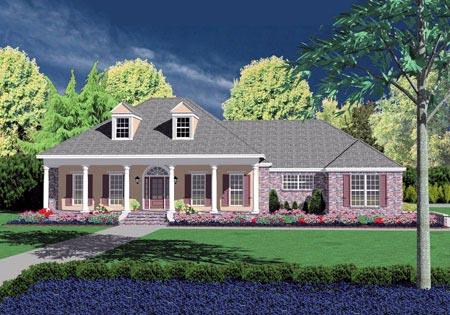 OneStory House Plan 56282