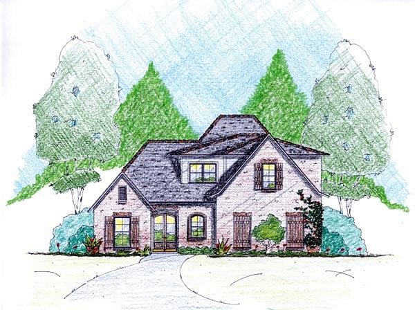 House Plan 56353 Elevation