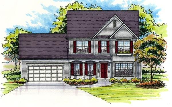 House Plan 56403