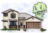 Southwestern Home Plan with Guest Casita @ Architectural Designs