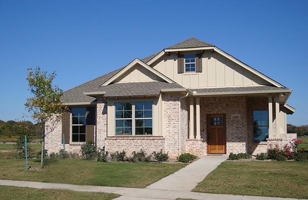 House Plan 56556 Elevation