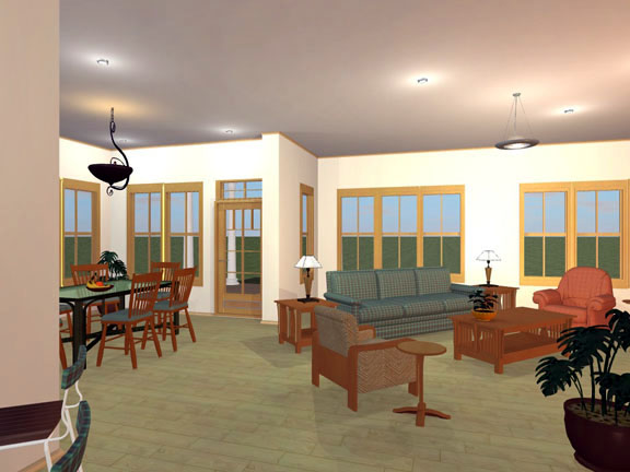 European, Ranch, Traditional House Plan 56565 with 3 Beds, 2 Baths, 2 Car Garage Picture 1