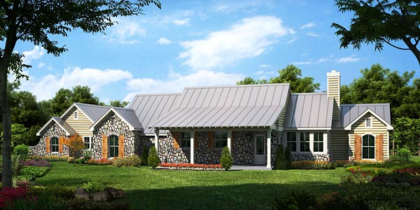 Traditional House Plan 56566