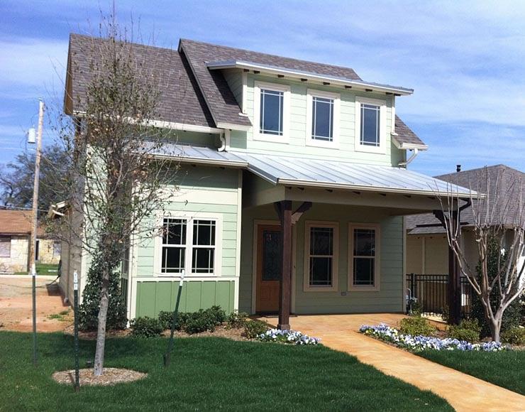 Cottage, Craftsman House Plan 56577 with 3 Beds, 2 Baths, 1 Car Garage Elevation