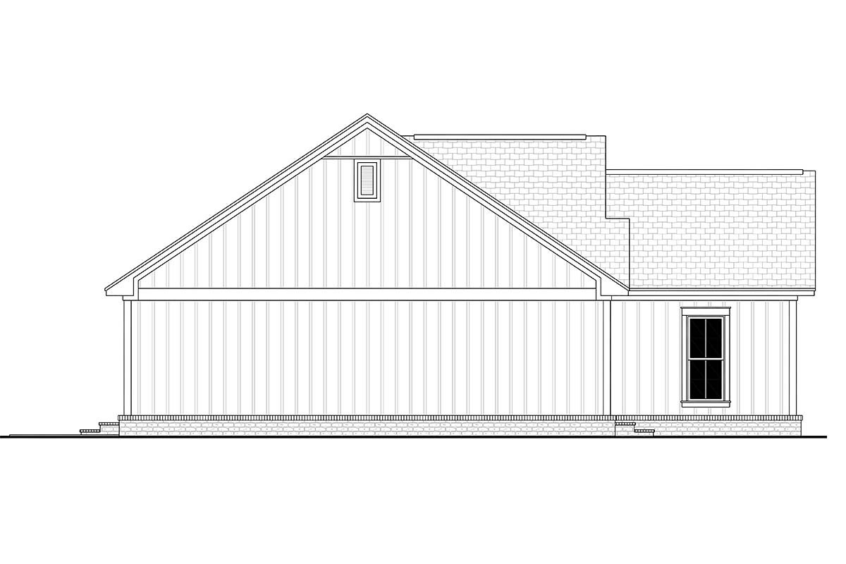 Country, Farmhouse, Traditional House Plan 56705 with 3 Beds, 2 Baths, 2 Car Garage Picture 2