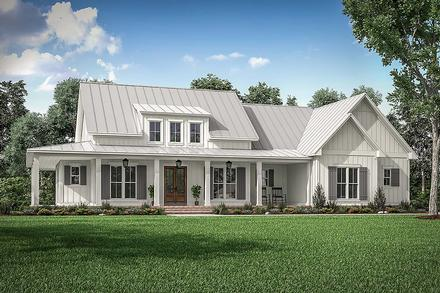 Country, Craftsman, Farmhouse House Plan 56717 with 3 Beds, 3 Baths, 2 Car Garage