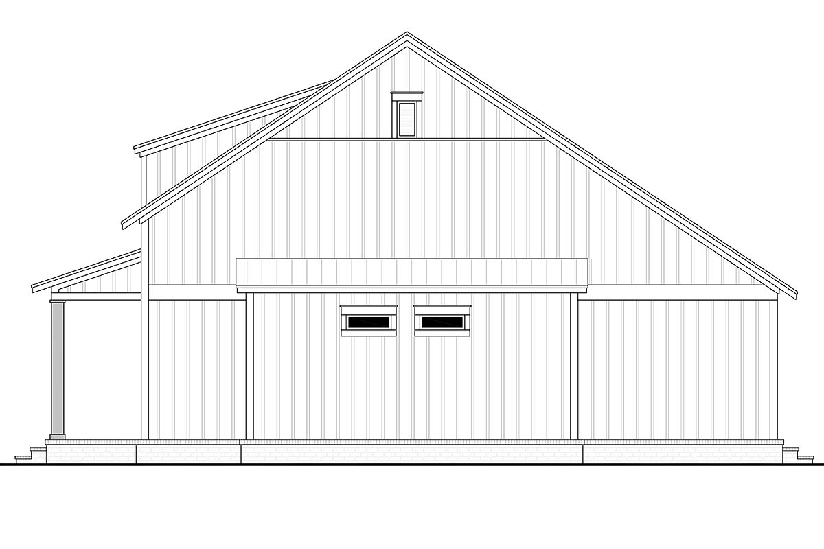 Cottage, Country, Farmhouse House Plan 56721 with 2 Beds, 2 Baths Picture 1