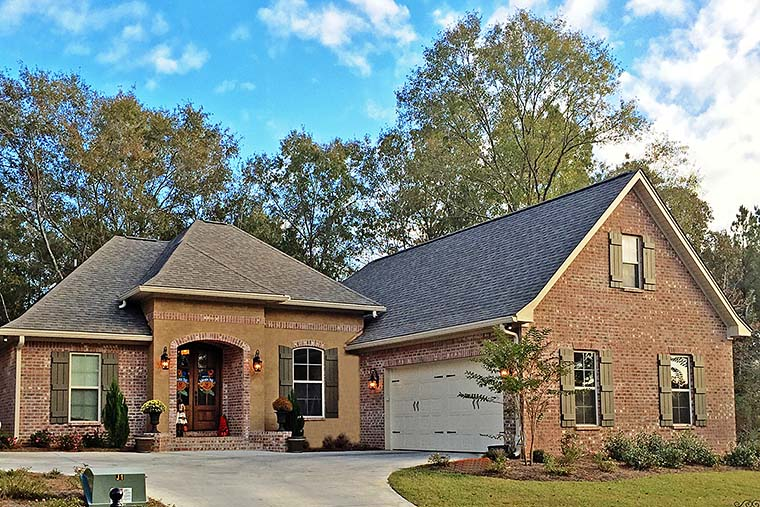 Country French Country Southern House Plan 56907 Elevation
