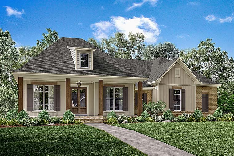 Southern Style House Plan 56908 with 3 Bed, 2 Bath, 2 Car Garage on historic house plans, small colonial house plans, mission revival house plans, new country house plans, small country house plans, french house plans, saltbox farmhouse plans, country style house plans, elevated house plans, raised cabin plans, southern living house plans, creole style house plans, cottage house plans, tudor revival house plans, raised bed wall materials, simple country house plans, louisiana style house plans, south louisiana house plans, island colonial house plans,