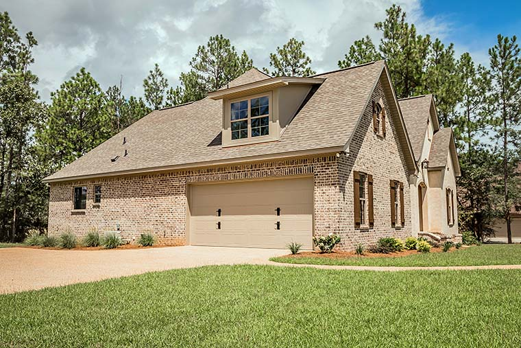 European, French Country, Southern, Traditional House Plan 56918 with 4 Beds, 3 Baths, 2 Car Garage Picture 16