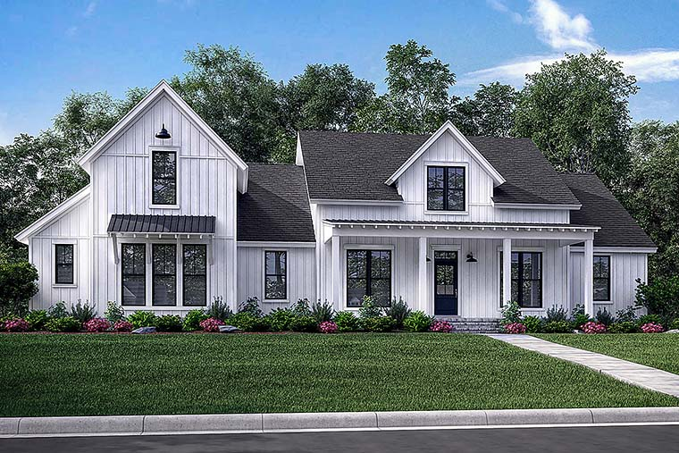 House Plan 56926 Cottage Country Farmhouse Southern