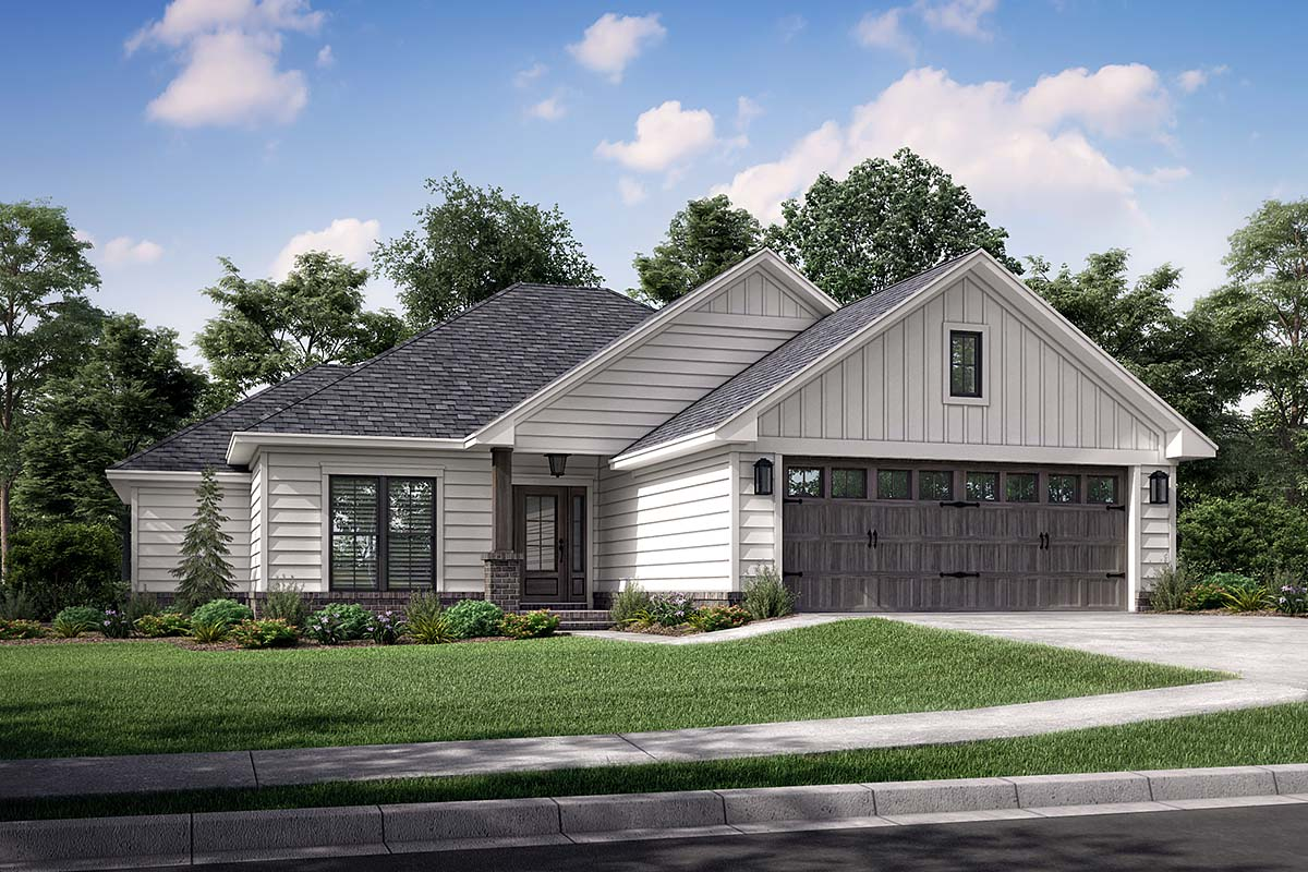 Cottage Traditional House Plan 56941 Elevation