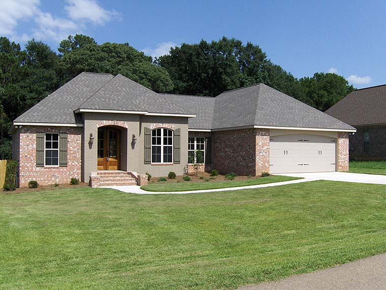 Country French Country House Plan 56987 Elevation