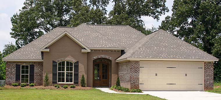 Country French Country House Plan 56988 Elevation