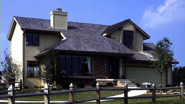 House Plan 57306 Elevation