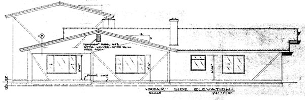 Mediterranean House Plan 57348 Rear Elevation