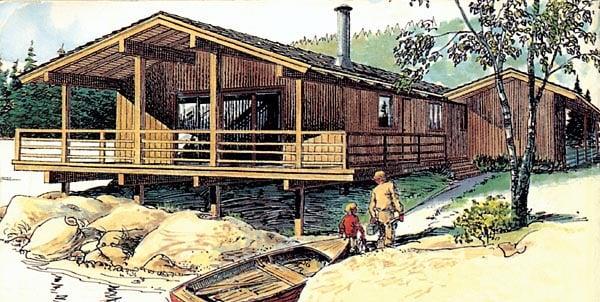 Retro House Plan 57369