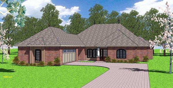 Southern House Plan 57899