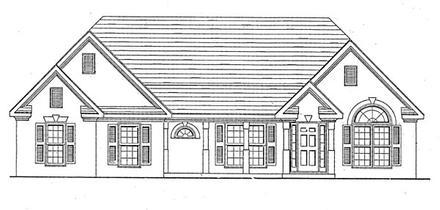 House Plan 58003