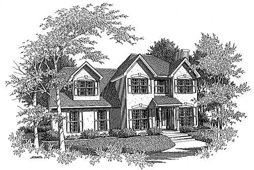 House Plan 58005