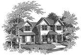 Plan Number 58005 - 1535 Square Feet