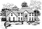 Plan Number 58008 - 2627 Square Feet