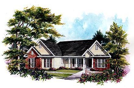 House Plan 58011