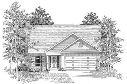 House Plan 58024