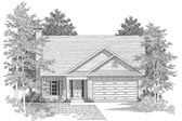 Plan Number 58024 - 1489 Square Feet