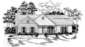 Plan Number 58028 - 1643 Square Feet