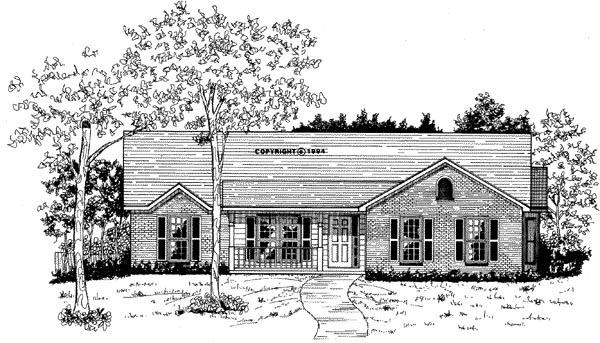 House Plan 58032