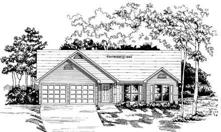 House Plan 58034