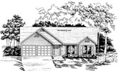 Plan Number 58034 - 1475 Square Feet