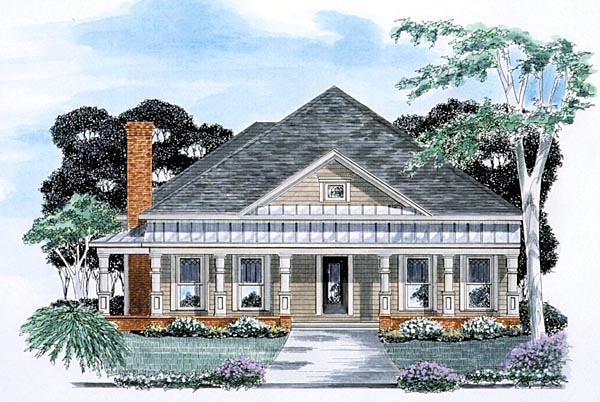 Traditional House Plan 58053