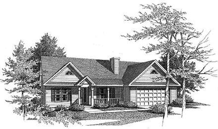 House Plan 58057