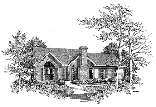 Traditional House Plan 58062 Elevation