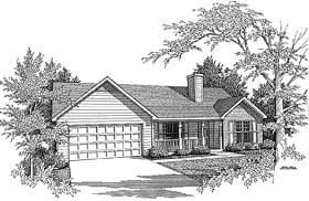 House Plan 58065
