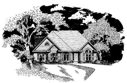 House Plan 58070