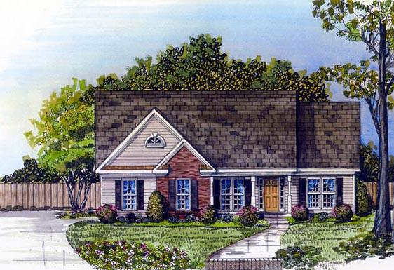 House Plan 58071