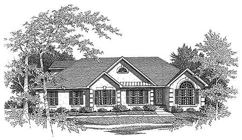 House Plan 58072