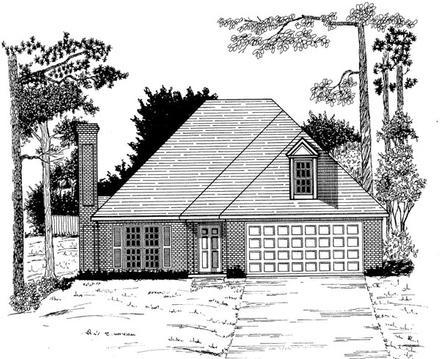 House Plan 58088