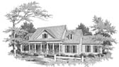 Plan Number 58091 - 2464 Square Feet