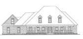 Plan Number 58095 - 3848 Square Feet