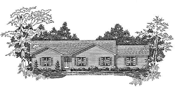House Plan 58104
