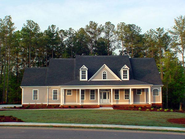 Traditional House Plan 58108 Elevation