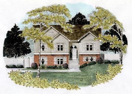 House Plan 58110