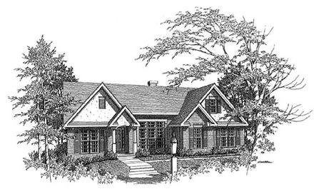 House Plan 58115