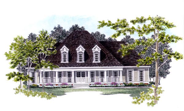 Cape Cod House Plan 58137 Elevation